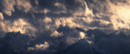 Landschaftsfotograf Landschaftsfotografie Fotografie Landschaft Natur Zeit Panorama Allgäu Alpen Berge Winter Schnee verschneit Trettach Hochalpen Krottenkopf Höfats Rubihorn Nebelhorn Oberstdorf Oberallgäu Rubi Hochfrott Mädelegabel
